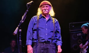 'My focus is all on today, tomorrow, next week and next year. That's where I put all of my attention, constantly' ... David Crosby.