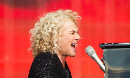 Carole King performs Tapestry at British Summer Time festival.
