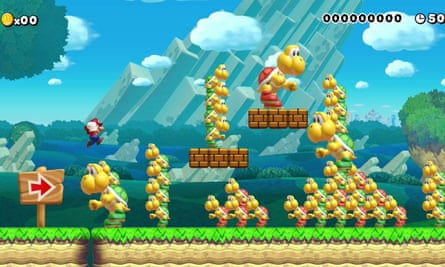 Super Mario Maker is great for teaching your children about art and game design, and you can build and test levels together