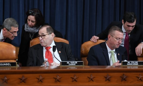 Trump impeachment: House prepares for crucial vote amid whistleblower row – live