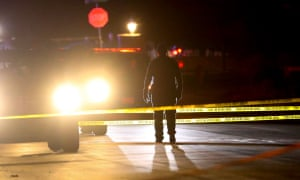 Police investigate after four people were killed and a fifth injured in a shooting at a Grantsville, Utah.