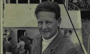 Peter Warner aboard his fishing boat in 1967