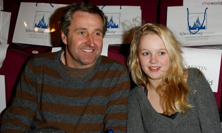 Mark Austin with his daughter Maddy in 2009.