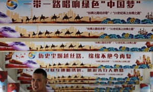 Pillars in Beijing hail the Belt and Road initiative