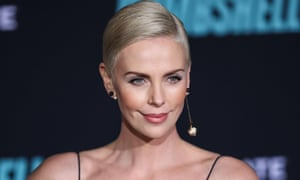 Charlize Theron at a screening of her new film Bombshell in New York