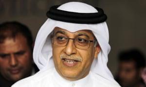 Asian Football Confederation president Sheikh Salman bin Ibrahim al-Khalifa.