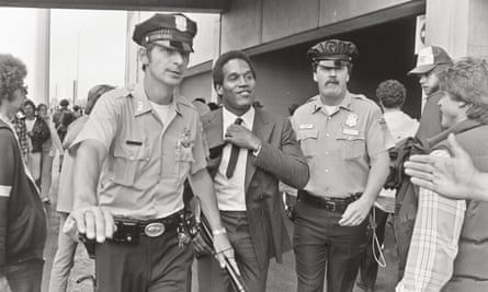 OJ Simpson, the football star who shunned black politics and was friends with the LAPD.