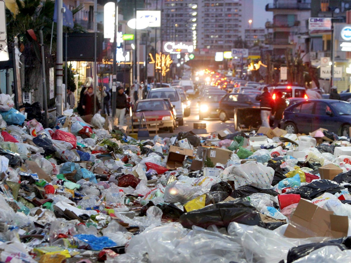 Image result for Trash ridden cities