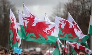 St David's Day celebrations in Cardiff