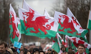 St David's Day Celebrations Take Place In Cardiff