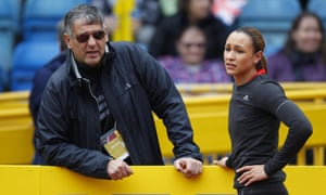 Toni Minichiello with Jessica Ennis-Hill in 2012. The coach is set to be warned by British Athletics after an unnamed female athlete accused him of verbally abusing her