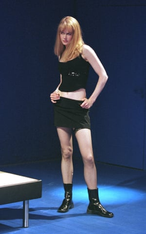 Nicole Kidman in The Blue Room at the Donmar Warehouse, 1998