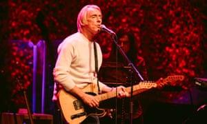 Playful … Paul Weller.