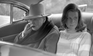 Winston Churchill with his granddaughter Celia Sandys, driving in Monte Carlo in 1963.