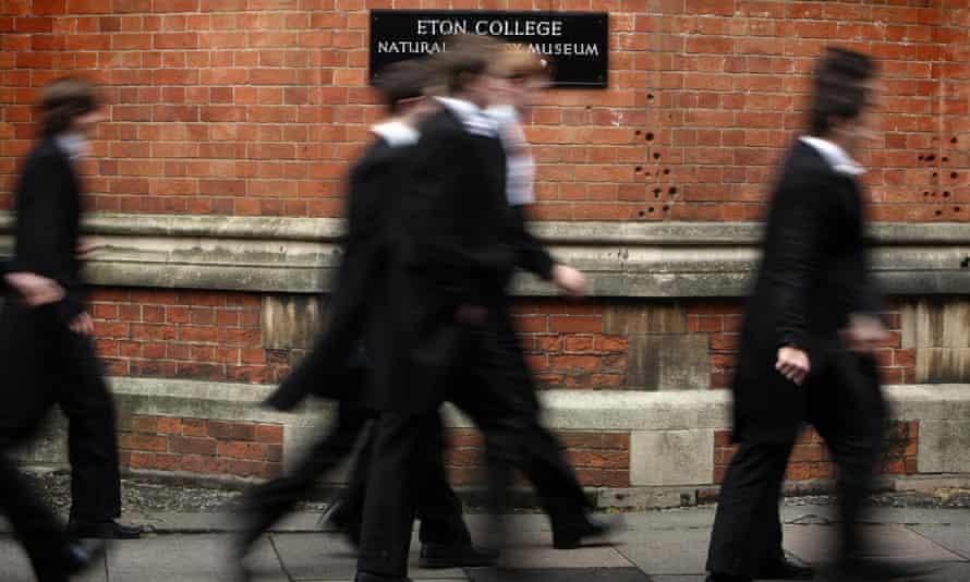 Schoolboys at Eton