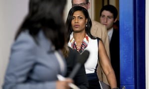 Former White House aide Omarosa Manigault Newman.