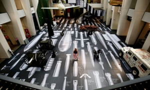 Ai Weiwei: History of Bombs at the Imperial War Museum.