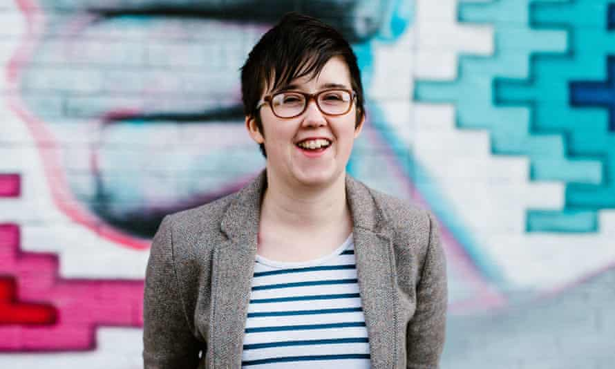 Lyra McKee posing for a photograph in Belfast. SHe was killed in Derry on 18 April.