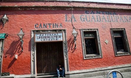 Cantina La Guadalupana, Mexico City.