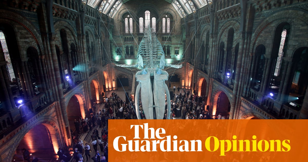The Natural History Museum must cancel tonight's shameful Saudi party   Owen Jones