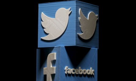 The UK is a relatively small part of the vast community covered by Twitter and Facebook.