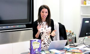 Sinéad Naidoo runs a session on helping children fall in love with reading at the Guardian Education Centre Reading for pleasure conference 28 March 2019