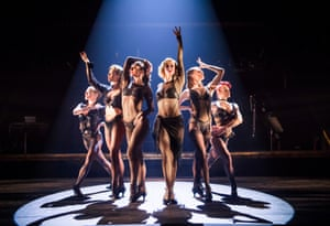 Not so much Fosse-ised as ossified … Chicago.