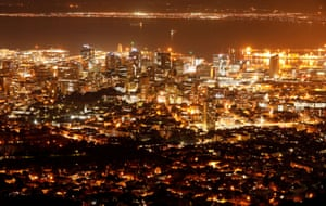 Cape Town, South AfricaElectricity lights up the central business district