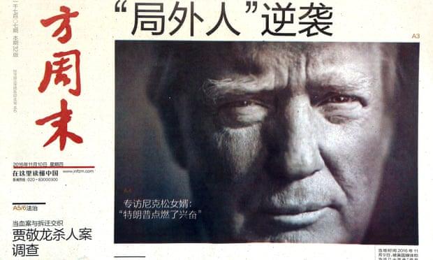 """Sob Trump, China pode substituir Rússia como """"principal ameaça"""""""