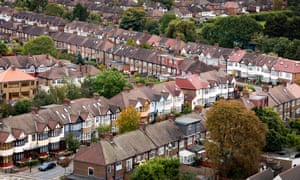 London is one of five cities in Hometrack's survey where house prices are falling in real terms because the annual growth rates are below the rate of consumer price inflation of 2.4%.