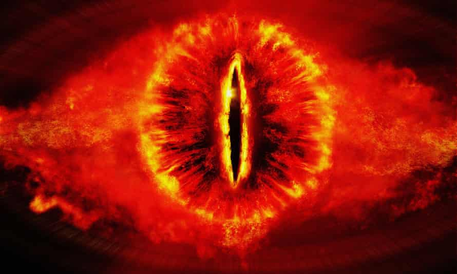 Look away ... the Eye of Sauron, as depicted in Peter Jackson's Lord of the Rings: The Fellowship of the Ring.