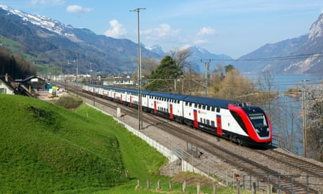 Swiss railways named best operator in Europe