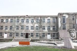 A school in Stepanakert, Nagorno-Karabakh