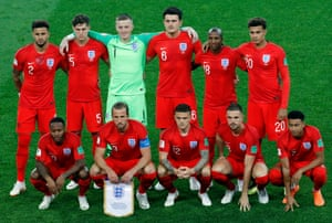 England's much-rested line-up for tonight is: Pickford, Walker, Stones, Maguire, Trippier, Alli, Henderson, Lingard, Young, Sterling, Kane.