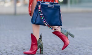 Louis Vuitton pokerface ankle boot, spotted in Duesseldorf, Germany.