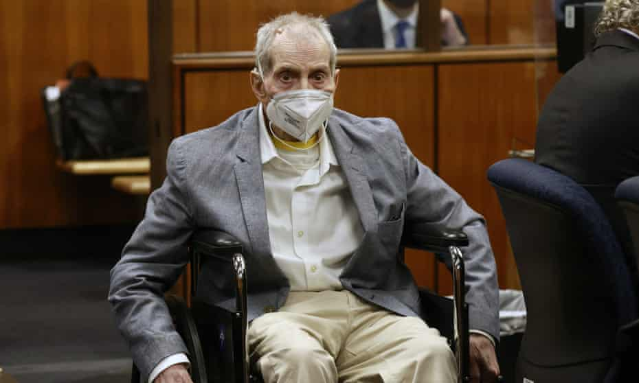 Robert Durst was convicted on Friday of murdering his best friend in December 2000.