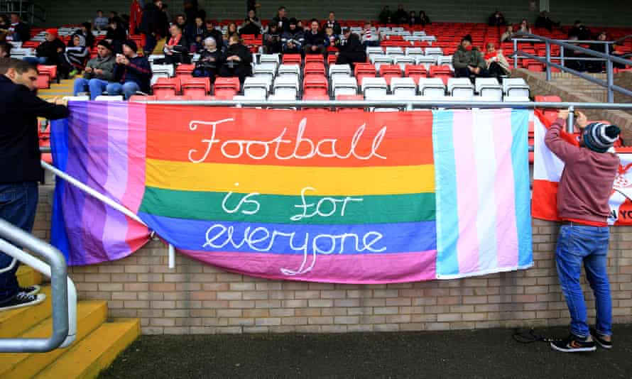 Football should be for everyone but it is not always hospitable.