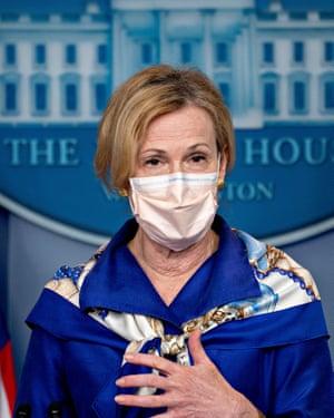 Dr Deborah Birx.
