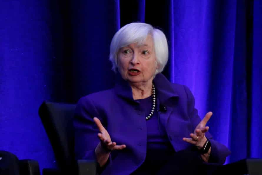Treasury secretary nominee Janet Yellen.