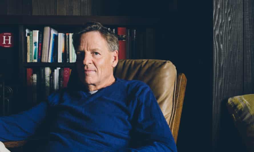 Michael Lewis, at home in Berkeley, California