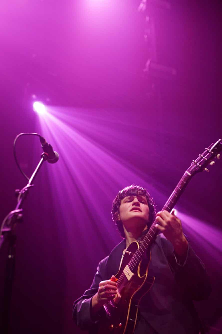 Adrianne Lenker at Manchester's Albert Hall.