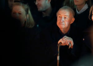Sir Terence Conran attends the Jasper Conran show during London Fashion Week Fall/Winter 2013/14 at Somerset House.