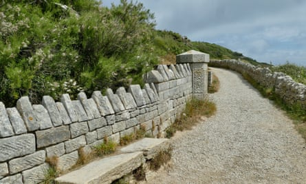New walkways at Durlston Country Park