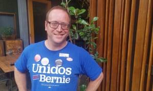 Democrats Abroad Australia chair Kent Getsinger in Adelaide