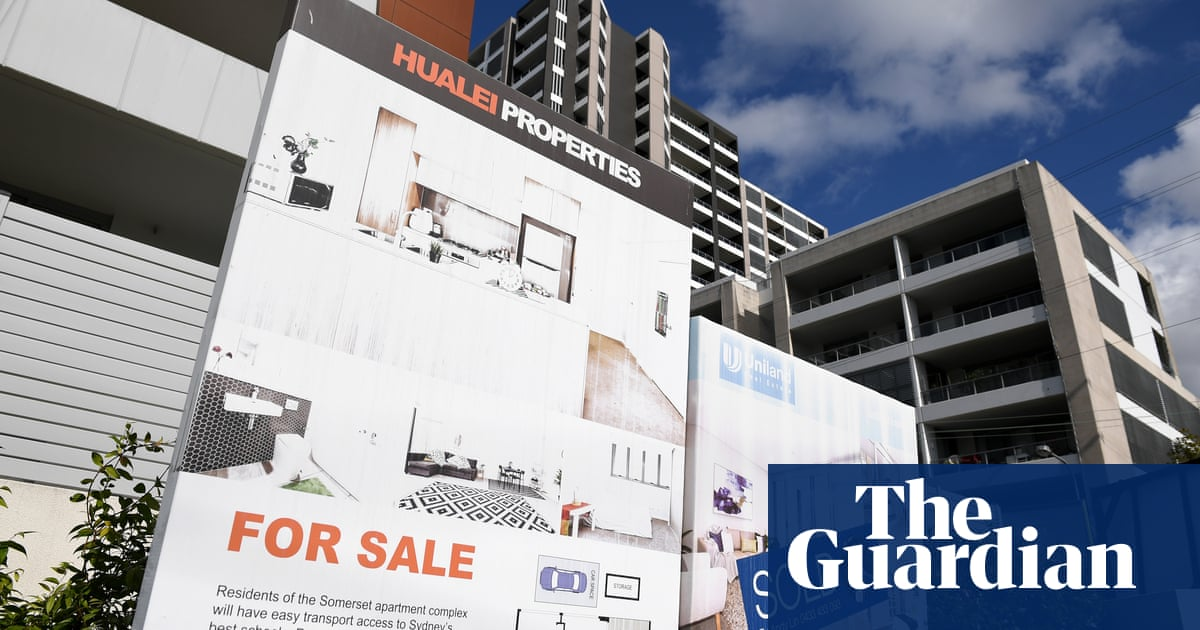 Treasury says slower population growth to ease prices as homebuilder and first-home buyer aid fires up market