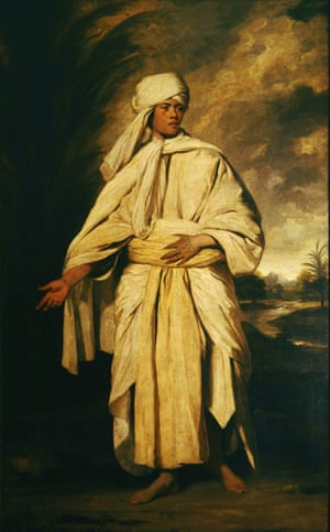 Portrait of Omai, by Joshua Reynolds