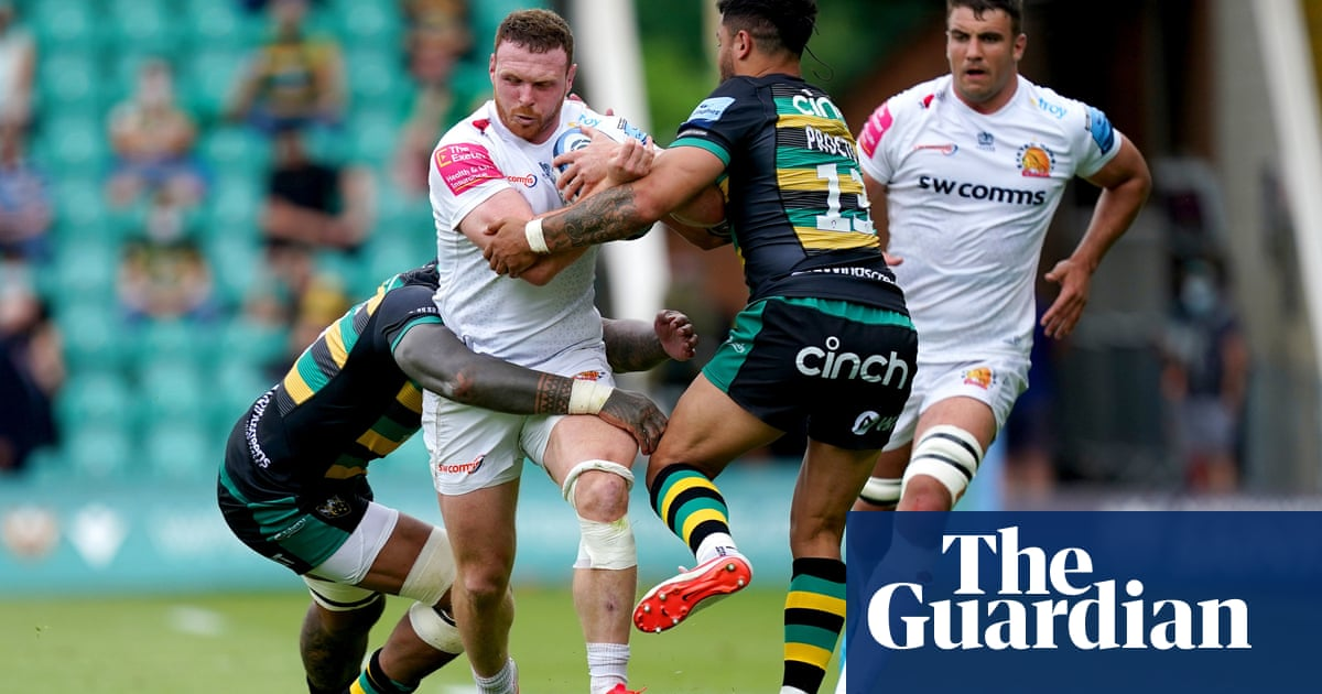 Lions handed boost as Sam Simmonds fit for Exeter's Premiership run-in