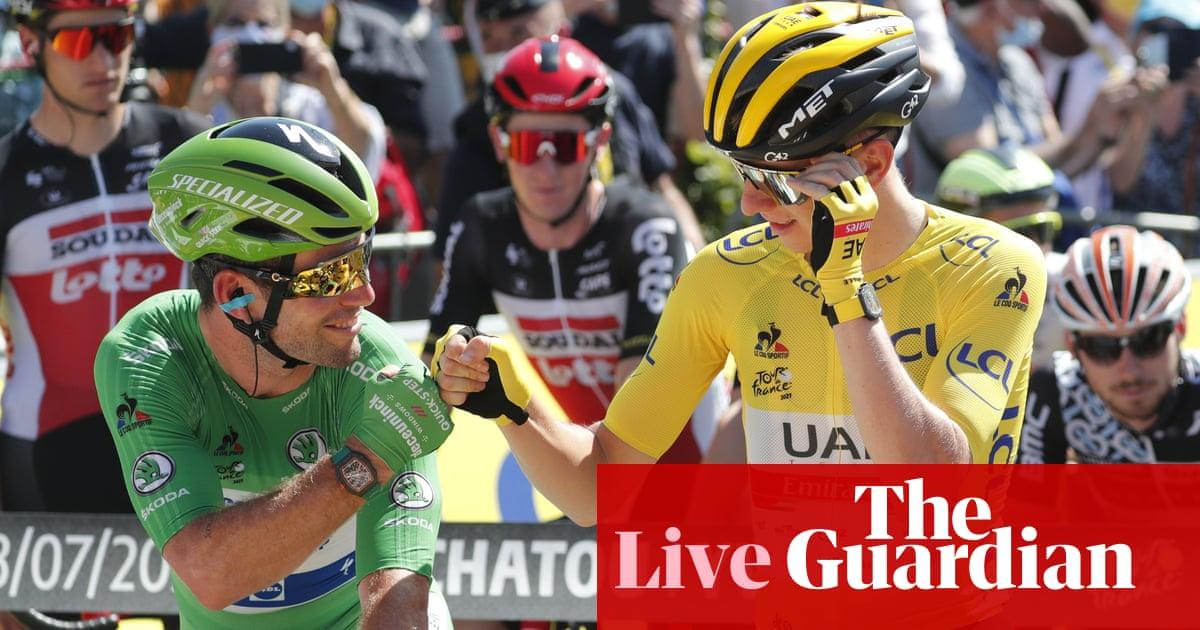 Tour de France: Cavendish chases win record, Pogacar set for title – live!