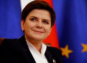 Beata Szydlo, the Polish prime minister