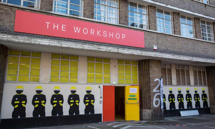 A former fire engine workshop on Lambeth High Street in London is temporarily hosting the Migration Museum and the Fire Brigade Museum.